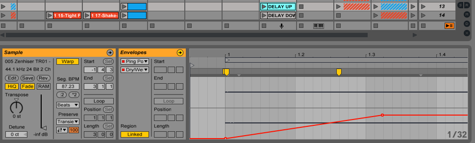 Ableton Clip Envelopes