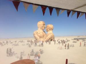 Burning Man 2014 - Embrace