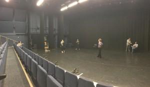 Lilian Baylis rehearsal